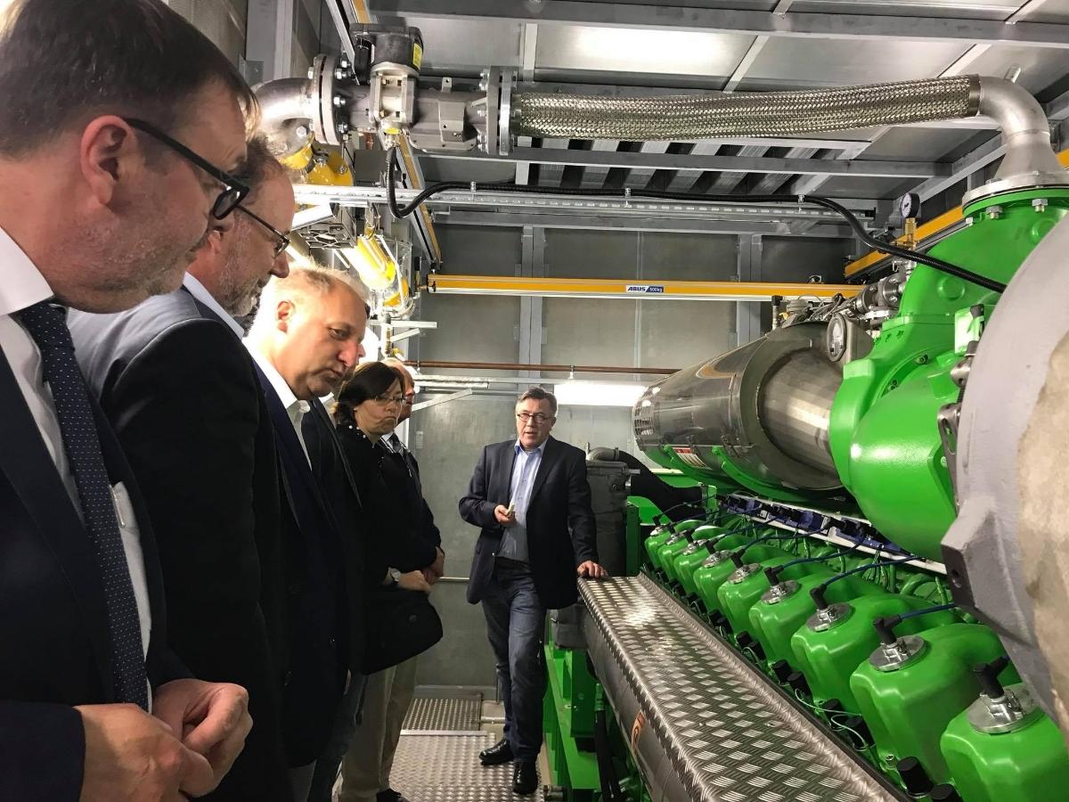 Bild: Besuch der Stadtwerke Kempen GmbH