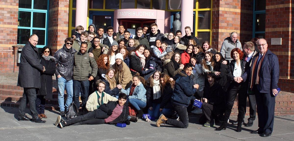 Bild: Gäste aus Israel besuchten Viersen