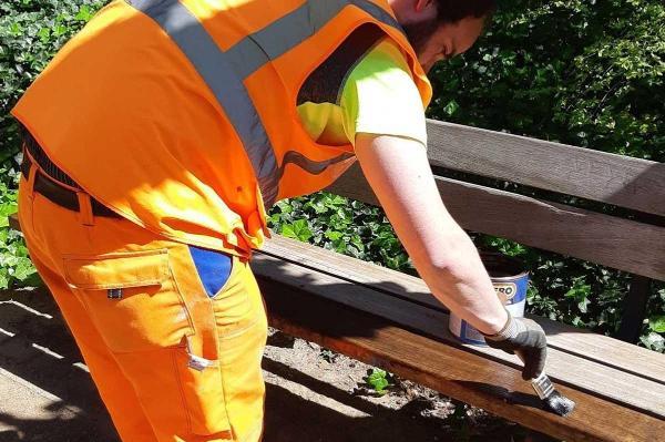 Bild: Bürgerarbeiter kümmern sich
