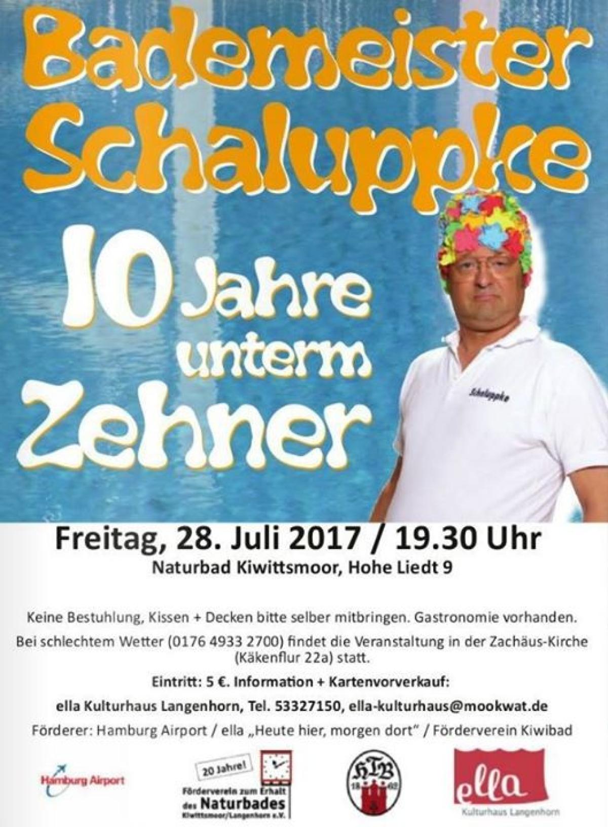 Veranstaltungsbild zu Bademeister Schaluppke