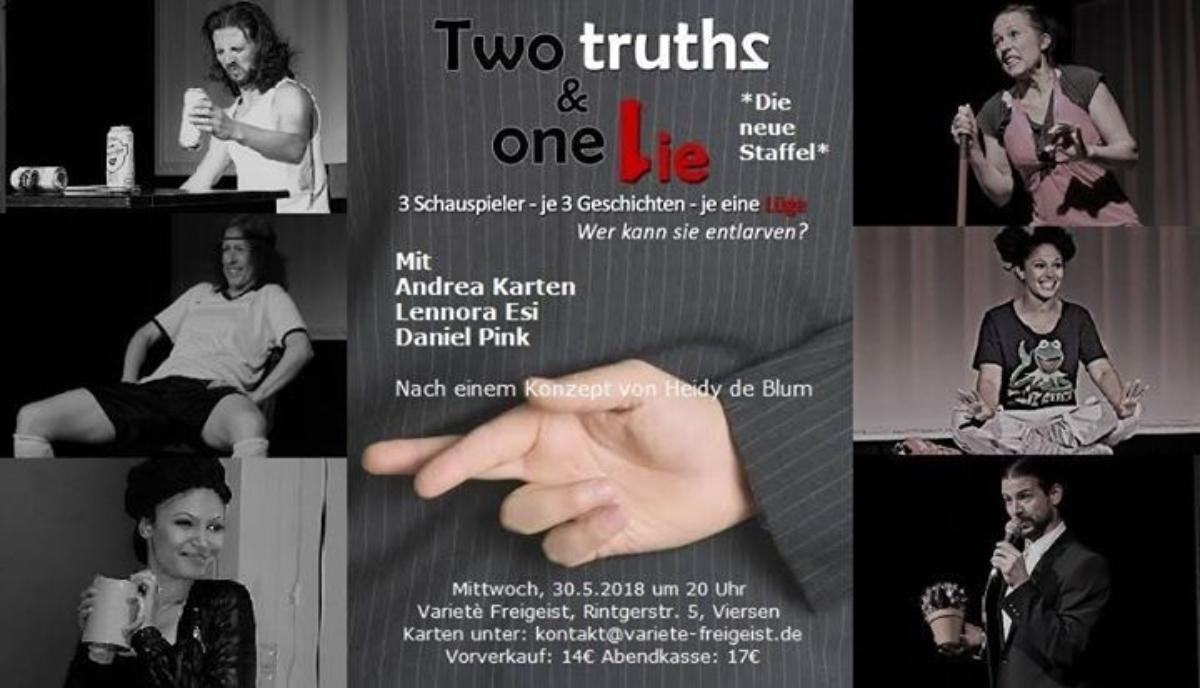 Veranstaltungsbild zu Two Truths & One Lie