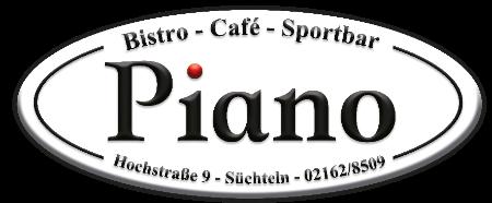 Bistro - Café - Sportbar Piano Logo