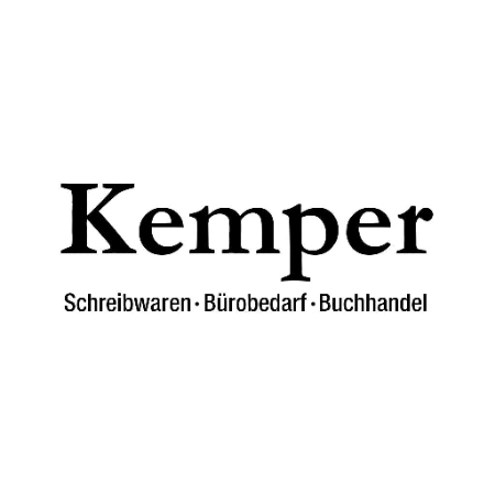 Schreibwaren-Bürobedarf-Buchhandel Kemper Logo