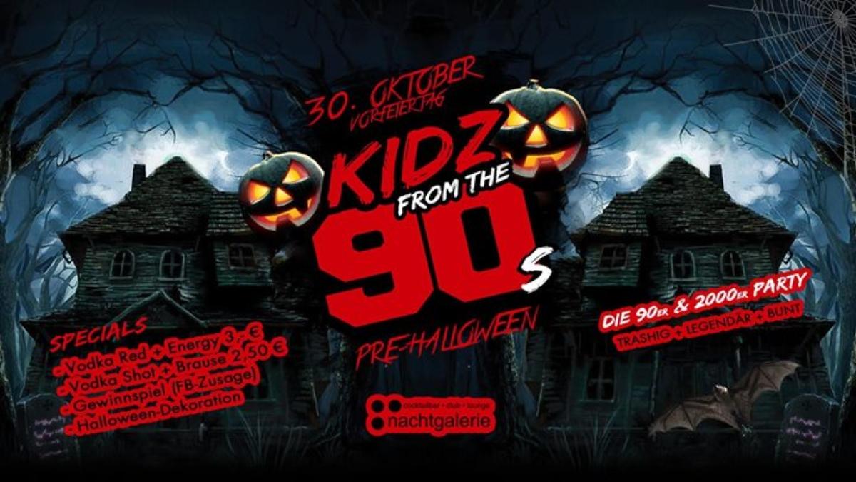 Halloween 30 Oktober.Meinviersen De Kidz From The 90s Pre Halloween Party