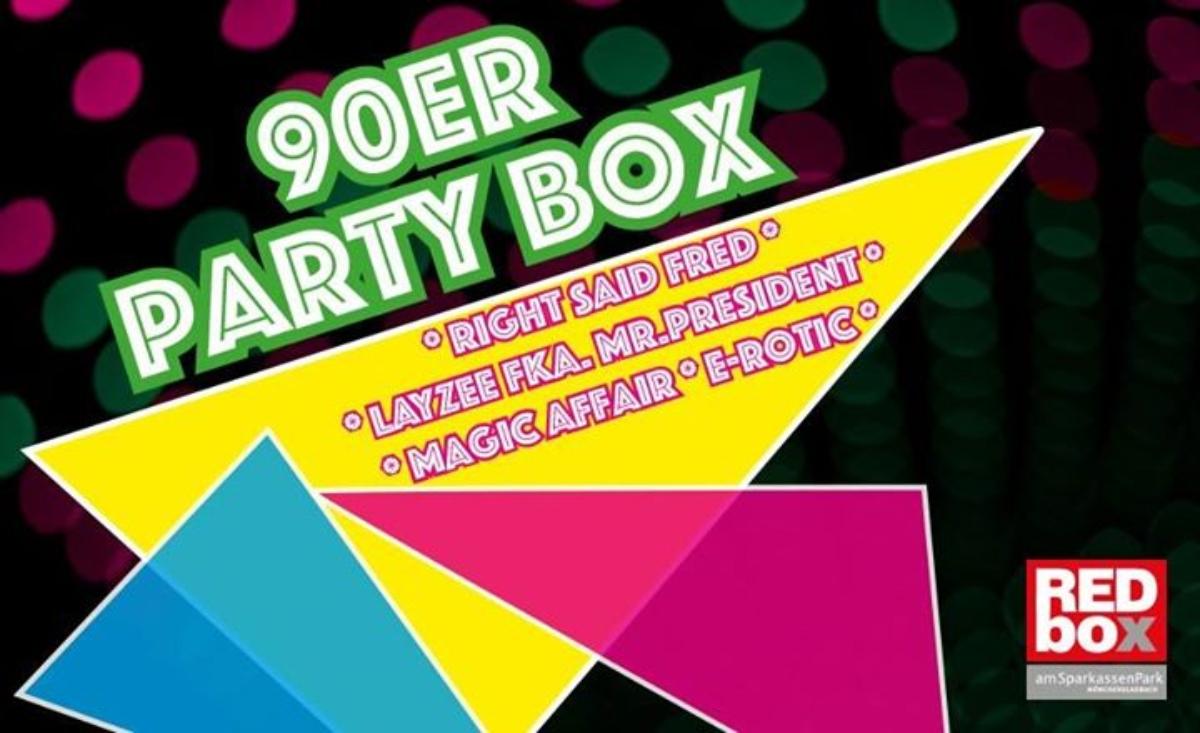 Veranstaltungsbild zu 90er Partybox