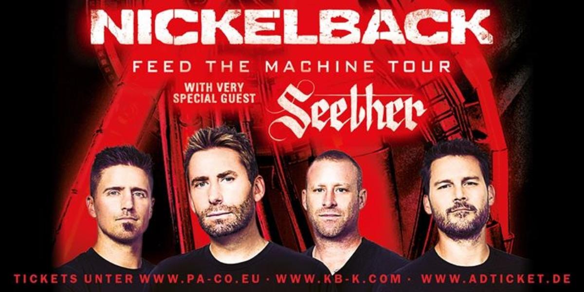 Veranstaltungsbild zu Nickelback Feed the Machine Tour w very special guest Seether