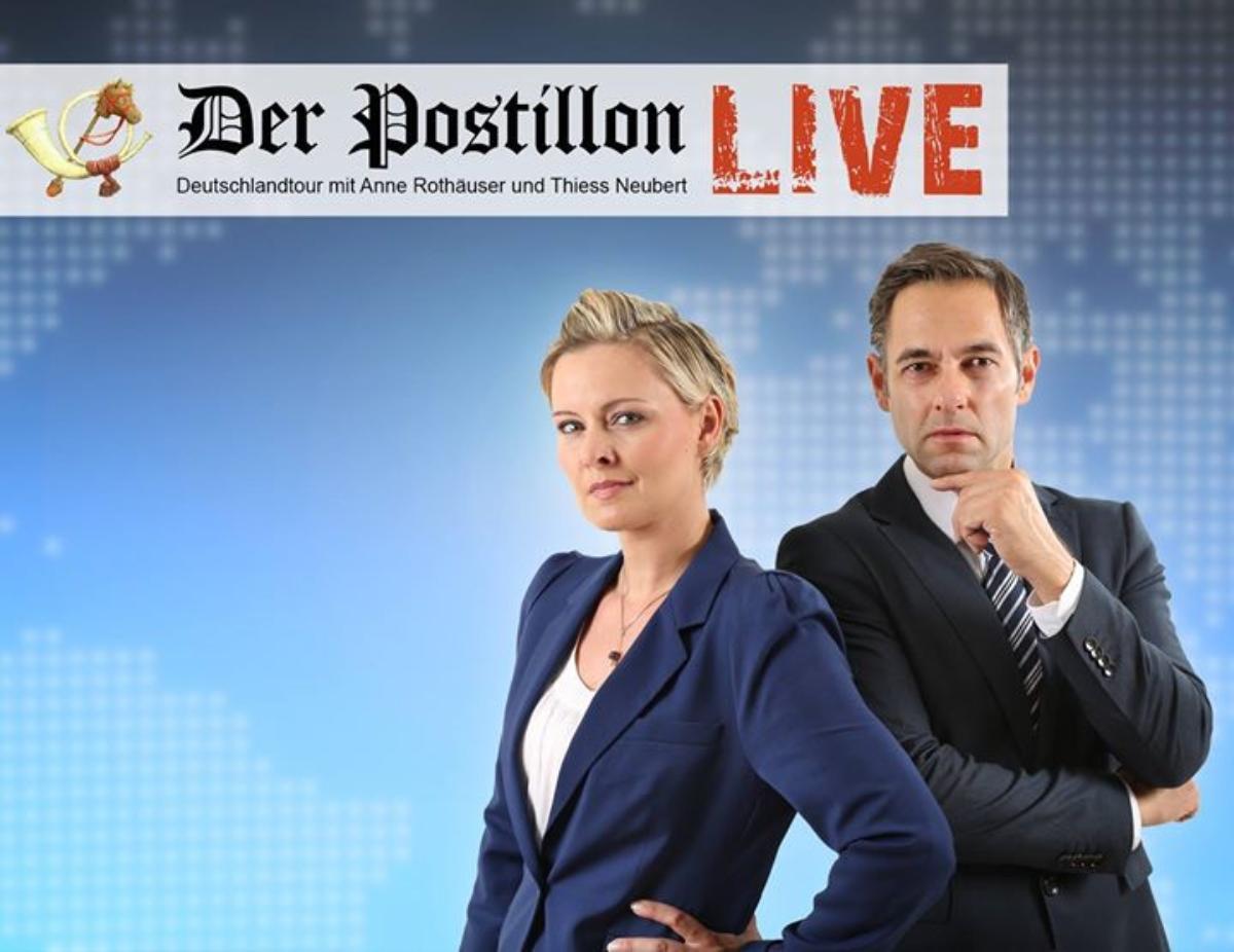 Veranstaltungsbild zu Der Postillon - LIVE • Krefeld • KuFa