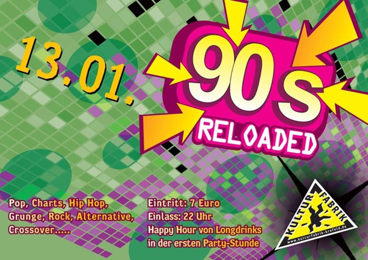 Veranstaltungsbild zu 90s Reloaded