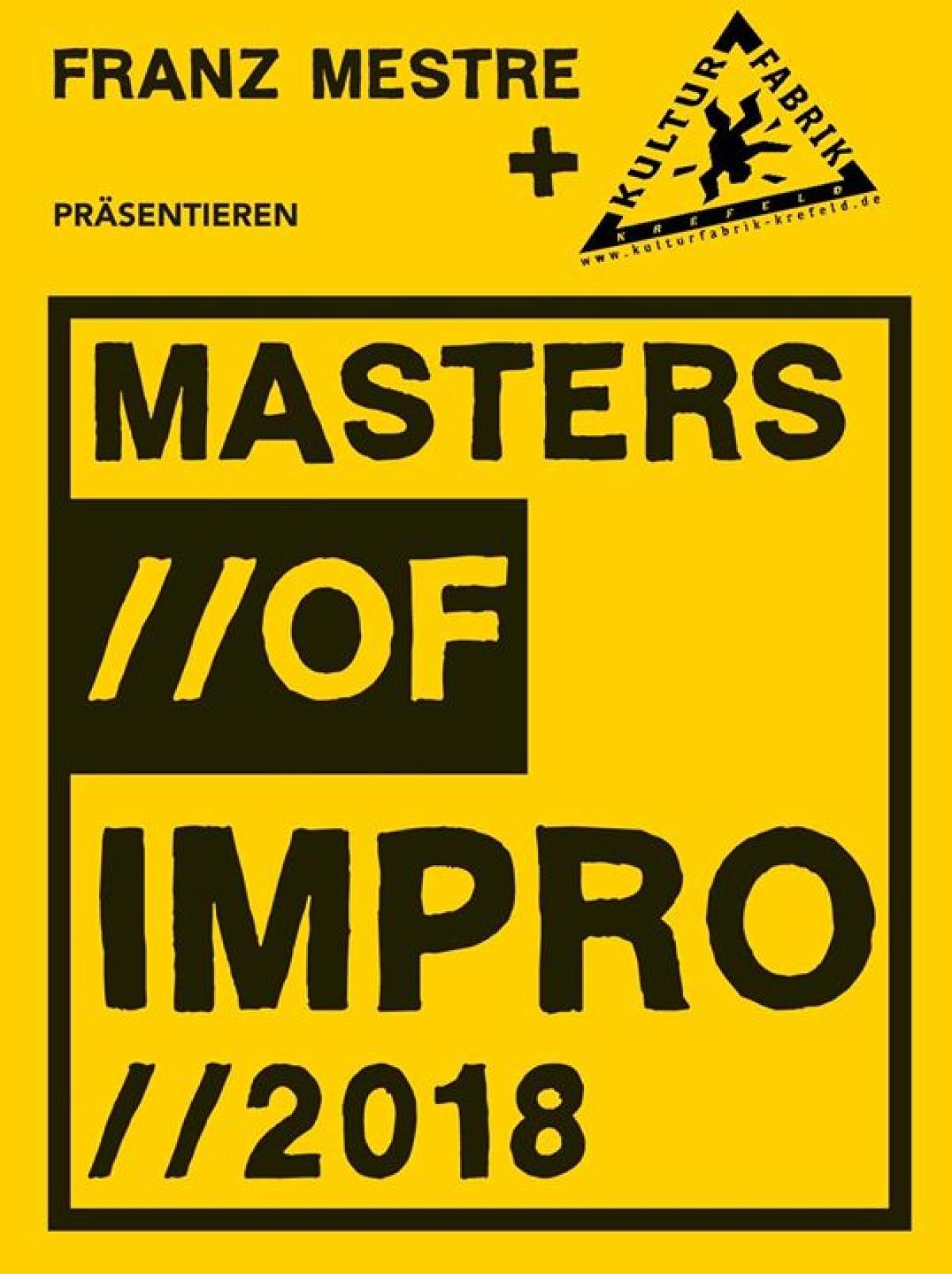 Veranstaltungsbild zu Masters of Impro: Männerter-Zett