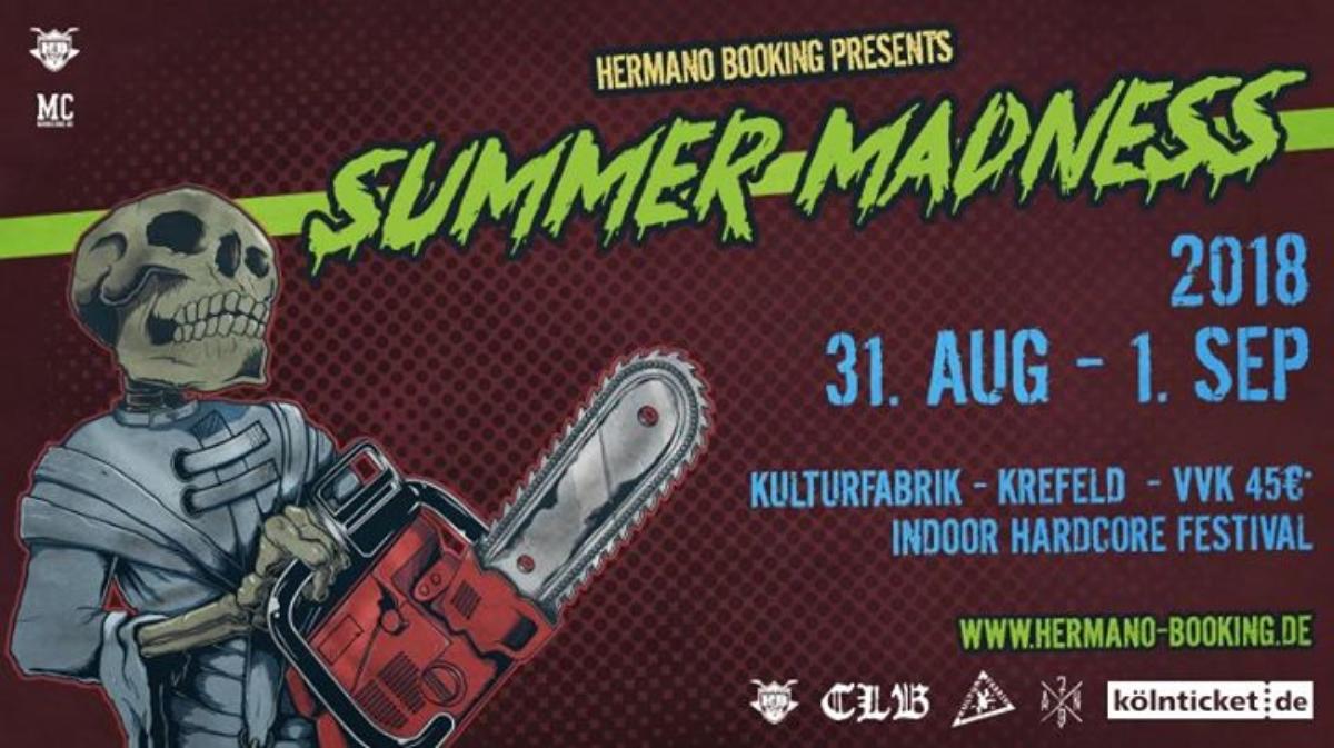 Veranstaltungsbild zu Summer Madness 2018 / Krefeld