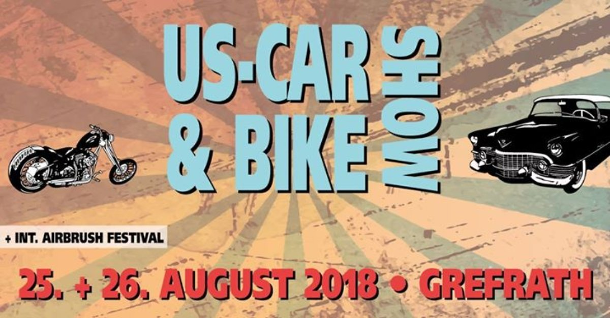 Veranstaltungsbild zu 13. US-Car & Bike Show Grefrath