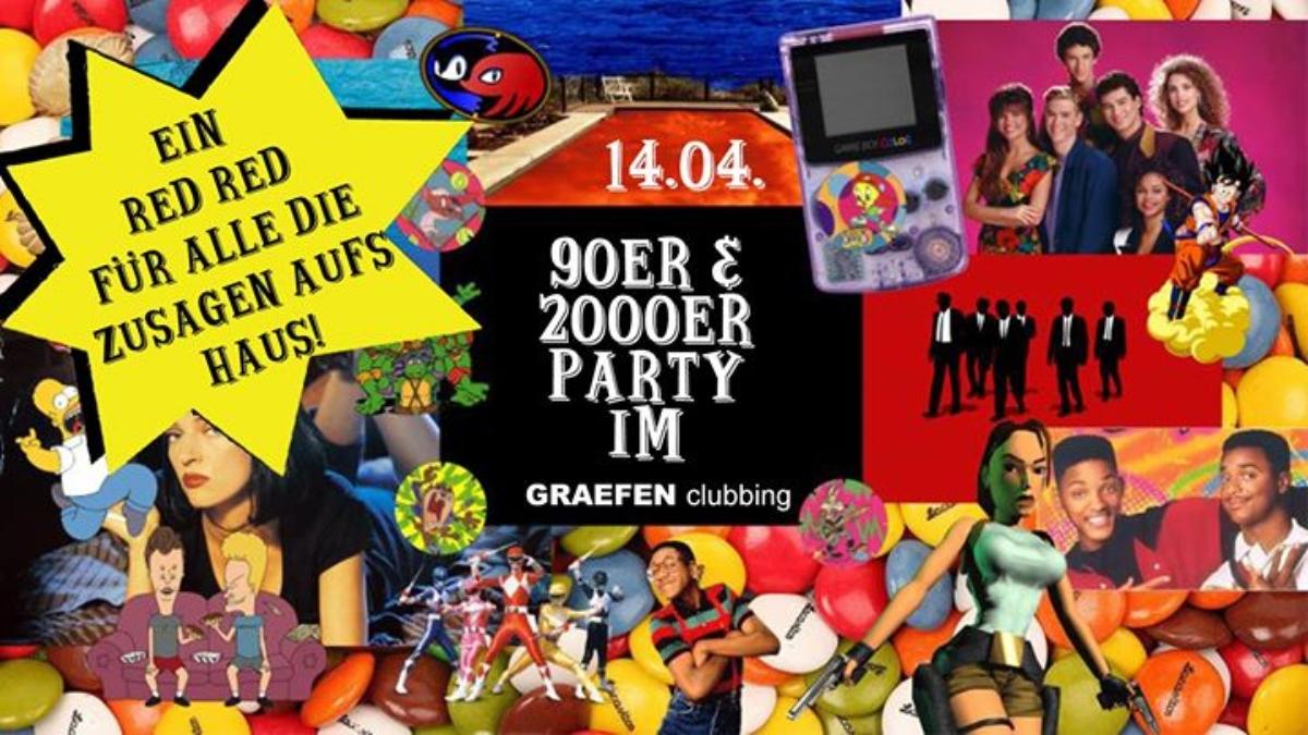 Veranstaltungsbild zu 90er & 2000er Party im Graefen