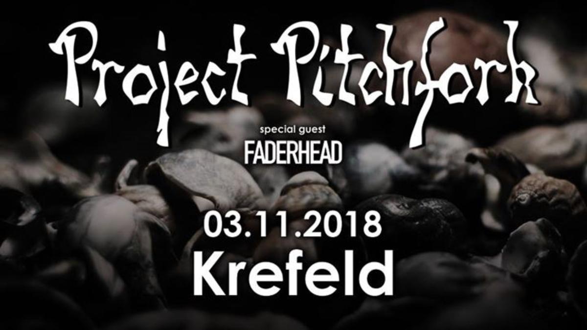 Veranstaltungsbild zu Project Pitchfork - Krefeld / Kulturfabrik