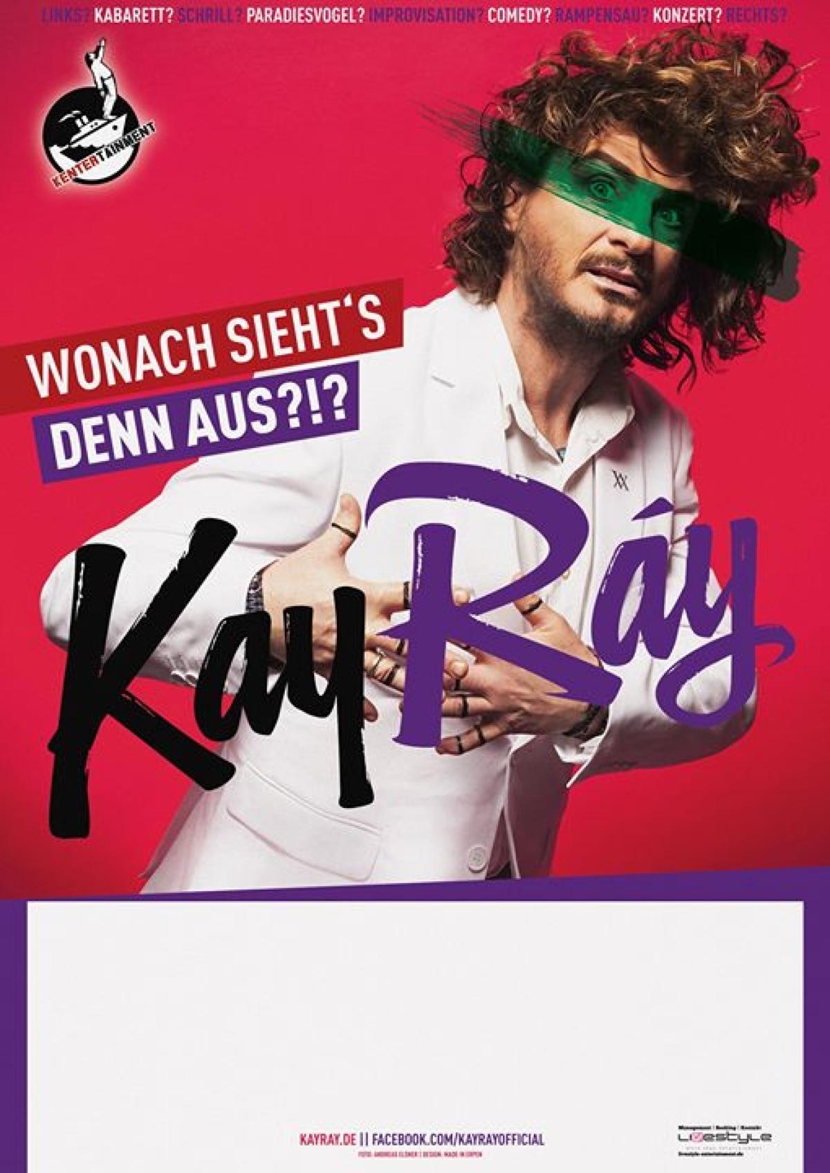 Veranstaltungsbild zu Kay Ray LIVE! in Krefeld