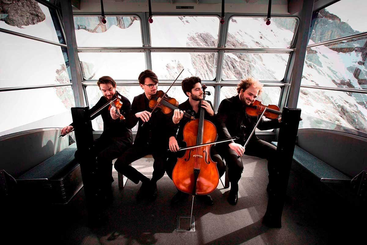 Veranstaltungsbild zu Goldmund Quartett