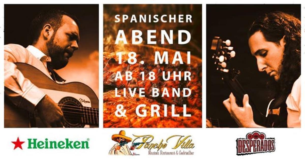 Veranstaltungsbild zu SAVE the DATE Spanischer Abend mit Live-Band & Grill-Event