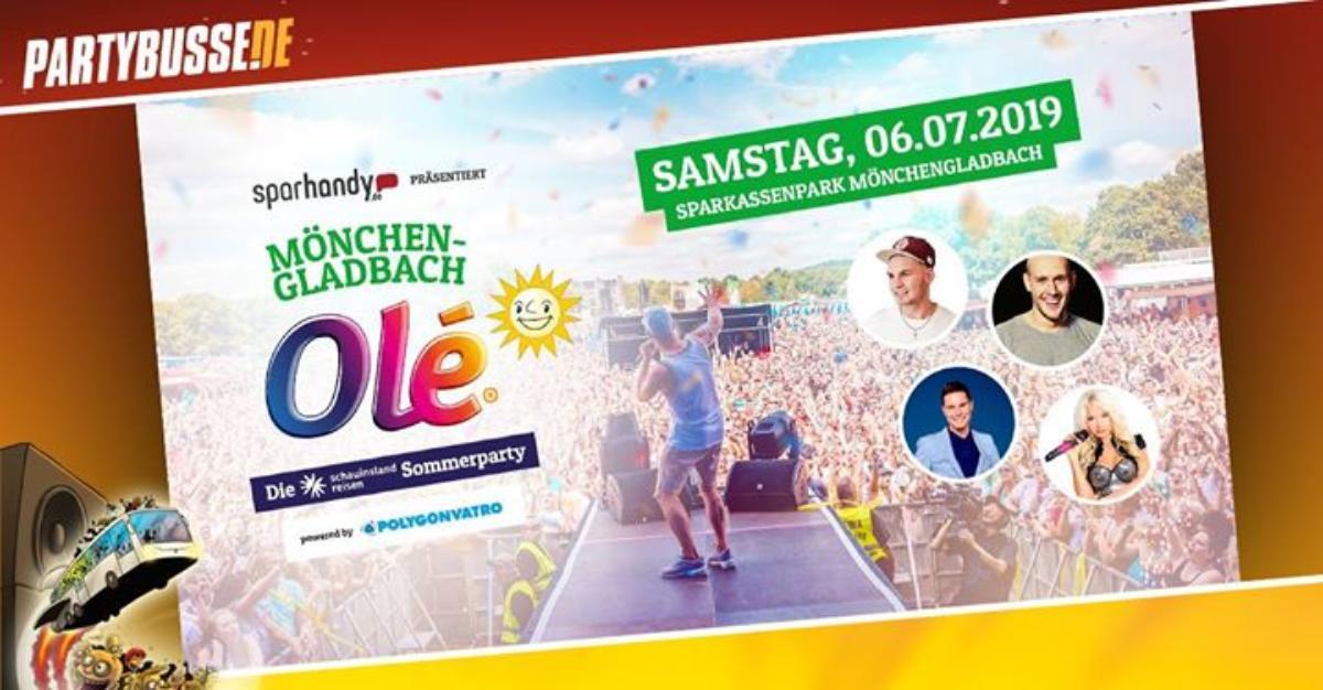 Veranstaltungsbild zu Mönchengladbach Olé - Partybusse.de