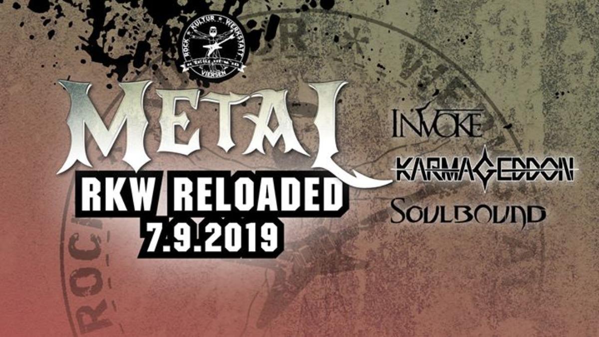 Veranstaltungsbild zu RKW Reloaded - Metal