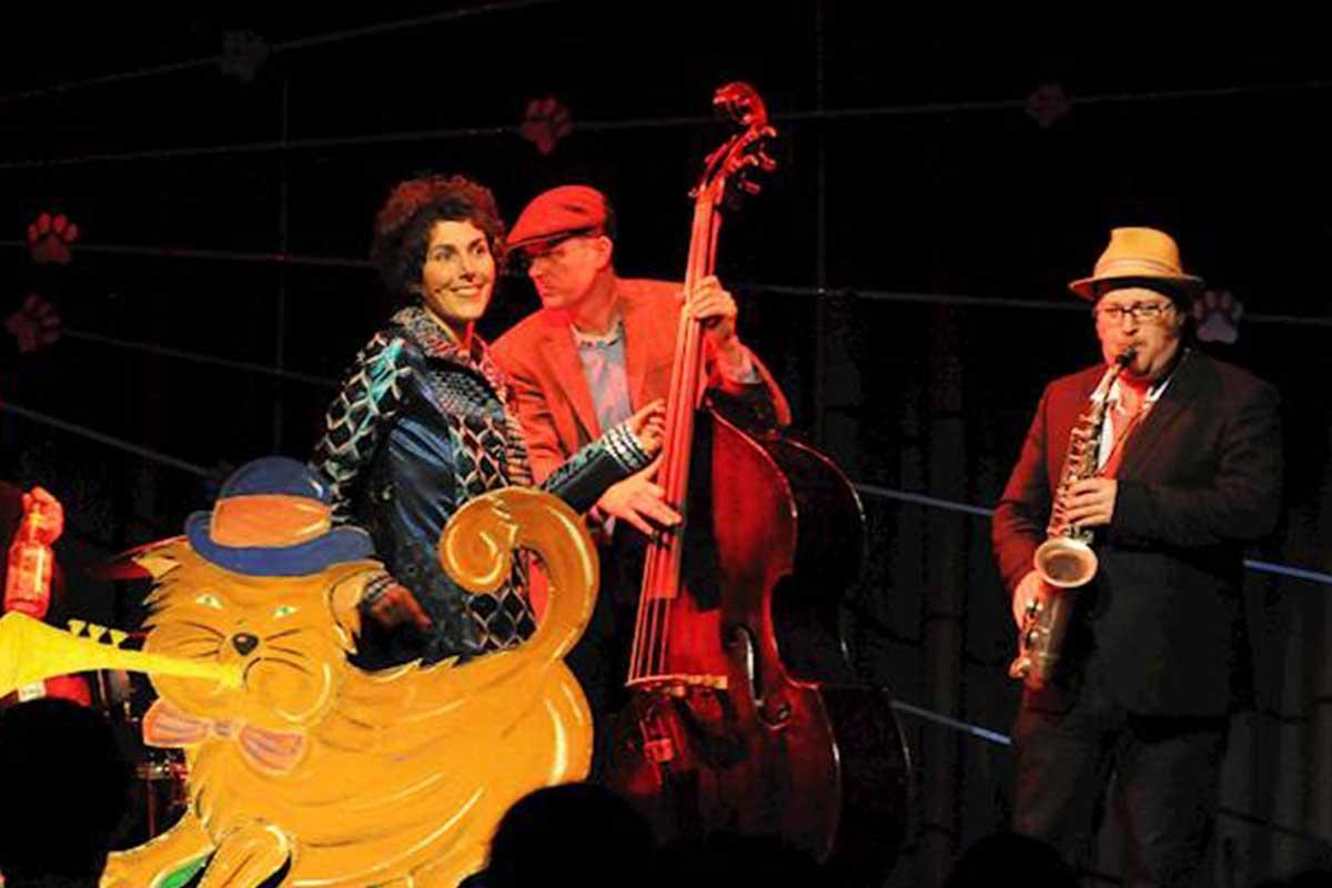 Veranstaltungsbild zu Matzes Swing und Groove Band. 'Matze mit der blauen Tatze'