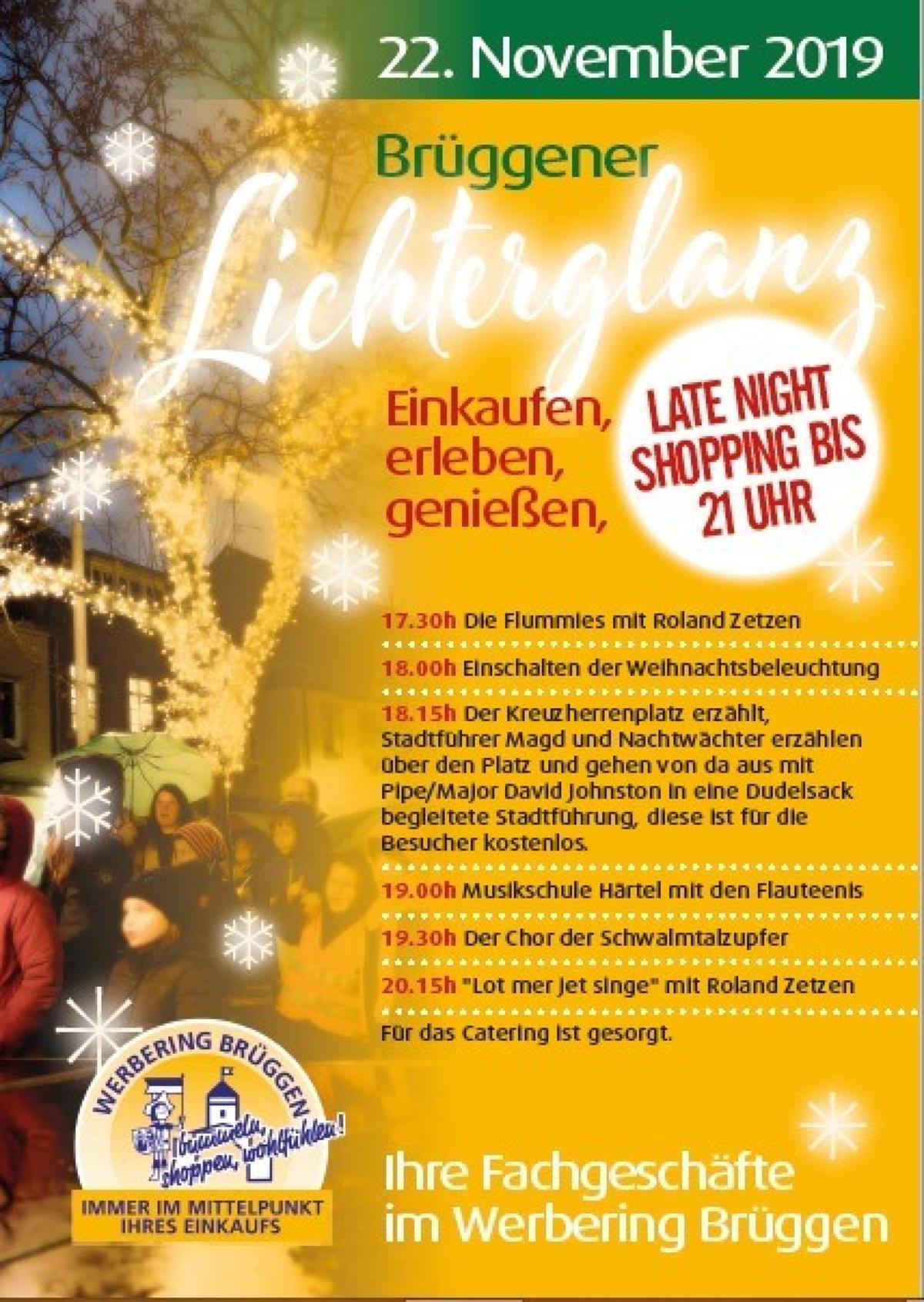Veranstaltungsbild zu Brüggener Lichterglanz