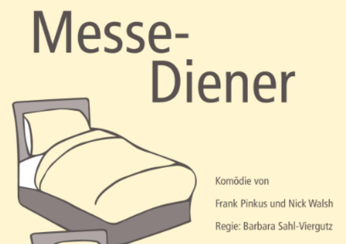"""Veranstaltungsbild zu Aufführung des Stückes """"Messe-Diener"""""""