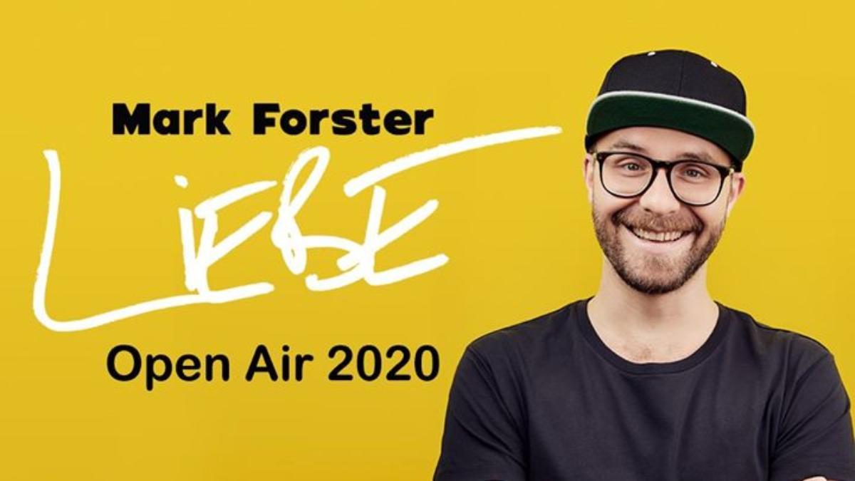 Bild Mark Forster - LIEBE Open Air 2020 / Mönchengladbach
