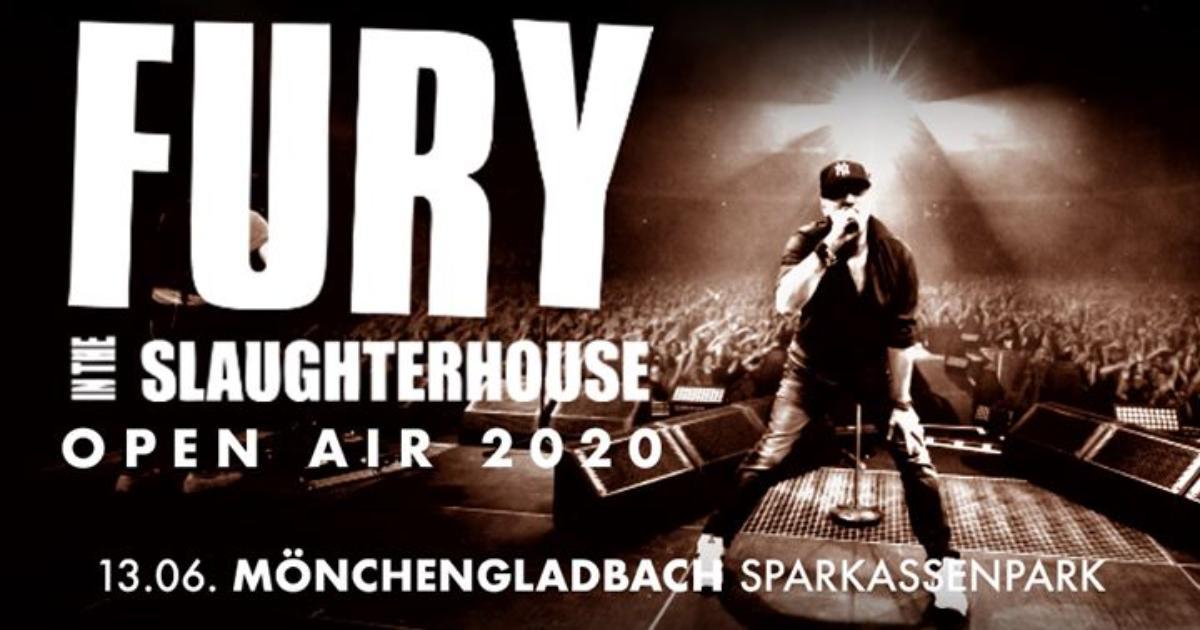 Bild Fury In The Slaughterhouse – Open Air 2020 I Mönchengladbach