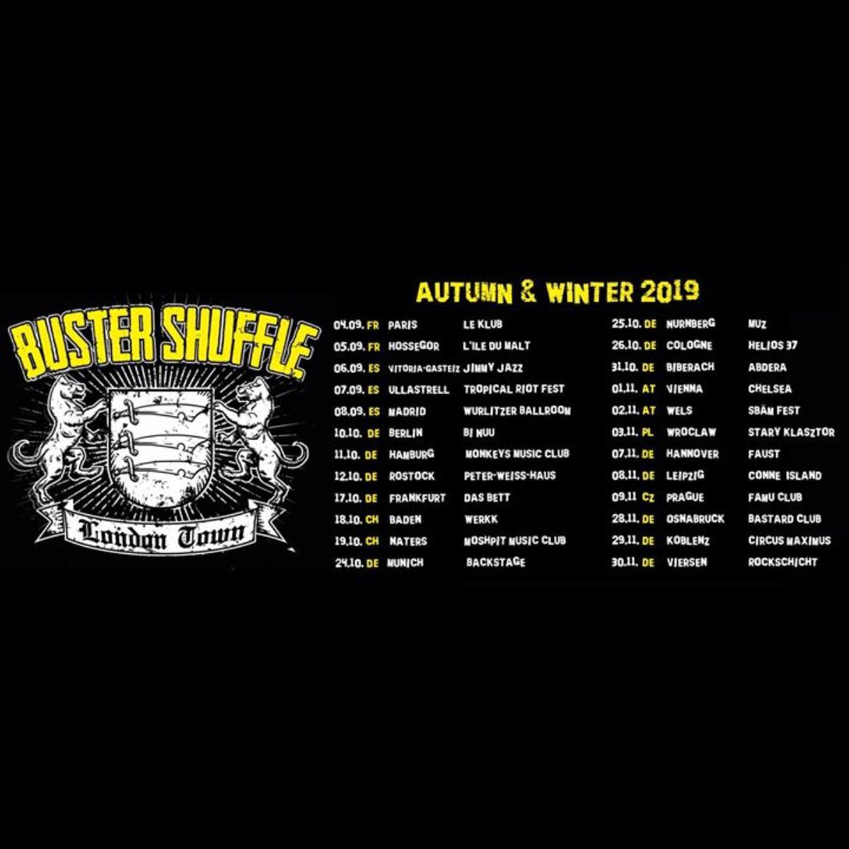 Veranstaltungsbild zu Buster Shuffle- Viersen