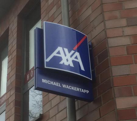 AXA Generalvertretung Michael Wackertapp Logo